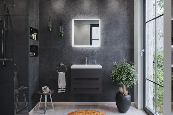 Gương phòng tắm có đèn led - Bí quyết để chọn một chiếc gương hoàn hảo cho gia đình bạn
