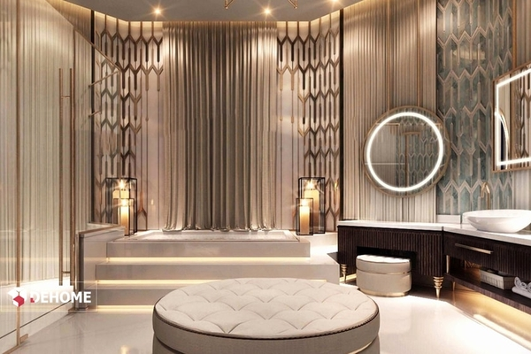 Gương phòng tắm cung cấp cho dự án resort