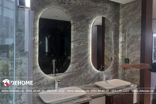 Gương phòng tắm cho căn hộ cao cấp DEHOME