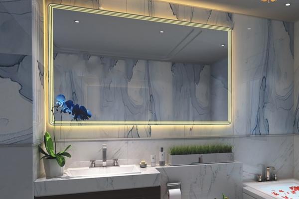 Cách đặt gương trong nhà tắm theo phong thủy