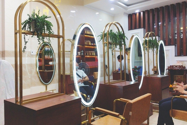 Công trình lắp đặt gương Salon cho khách hàng Mr Hải Quận Bình Thạnh - TPHCM