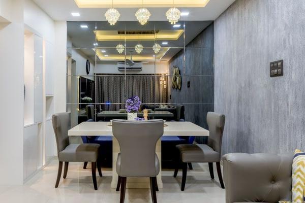 Gương dán tường - Phong cách thiết kế đẳng cấp cho căn phòng của bạn