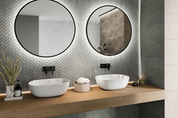 Gương treo nhà tắm và những lưu ý khi treo loại gương này