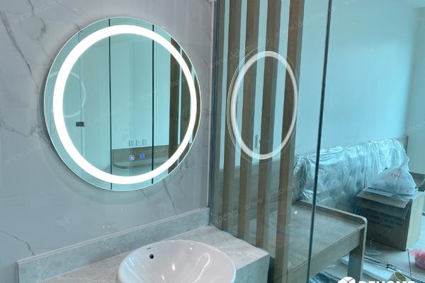 Lắp gương nhà tắm đẹp cần lưu ý những gì?