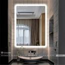Gương Phòng Tắm Đèn Led Chữ Nhật Dehome - D79.1A