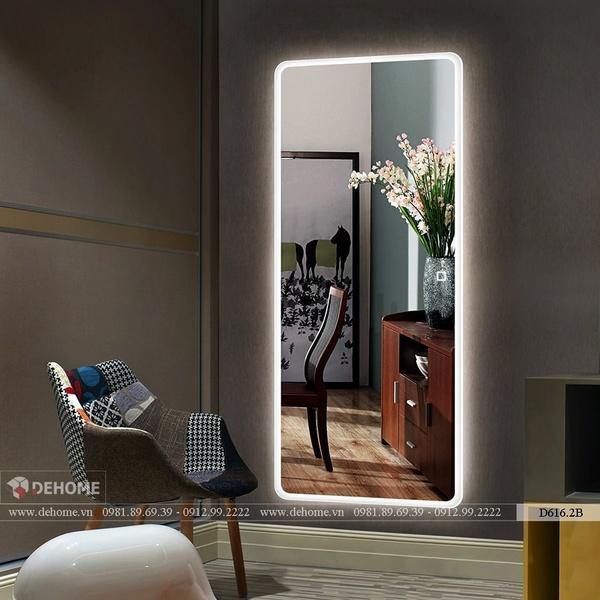 Gương Phòng Ngủ Có Đèn Led Cao Cấp Dehome - D616.2B
