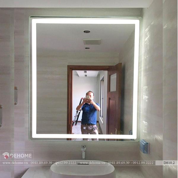 Gương Đèn Led Trong Nhà Tắm Cao Cấp Dehome - D810.2