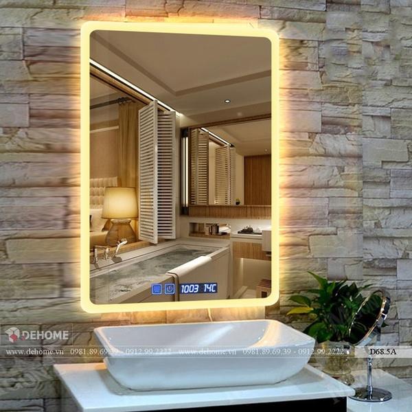 Gương Nhà Tắm Đèn Led Cao Cấp Dehome - D68.5A