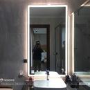 Gương Kính Nhà Tắm Treo Tường Có Đèn Cao Cấp Dehome - D815.4A