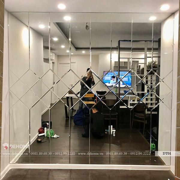 Gương Trang Trí Dán Tường Dehome - DT01