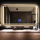 Gương Nhà Tắm Đèn Led Cao Cấp Dehome - D127.7C