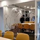 Gương Ghép Trang Trí Phòng Khách Dehome - DT02