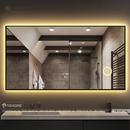 Gương Soi Nhà Tắm Có Đèn Led Thông Minh Cao Cấp Dehome - DKL127.3A