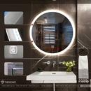 Gương Trong Nhà Vệ Sinh Cao Cấp Có Đèn Dehome - D60.2E