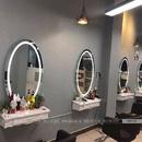 Gương Oval Salon Có Đèn Led Cao Cấp Dehome - D69.2B