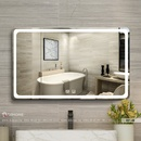 Gương Nhà Tắm Có Đèn Led Dehome - D97.4B