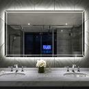 Gương Nhà Tắm Có Led Hình Chữ Nhật Dehome - D127.7E