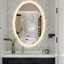 Gương Phòng Tắm Cao Cấp Hình Elip Cao Cấp Dehome - D69.5B