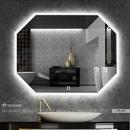 Gương Nhà Tắm Hình Bát Giác Dehome - D97.2D
