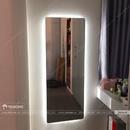 Gương Phòng Ngủ Cao Cấp Có Đèn LED Cao Cấp Dehome - D616.1C