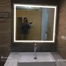 Gương Phòng Tắm Chữ Nhật Có Đèn Led Cao Cấp - D1010.4A