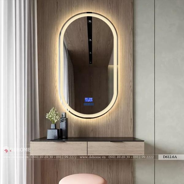 Gương Trang Điểm Có Đèn Led Cao Cấp Dehome - D612.6A