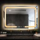 Gương Soi Toilet Có Đèn Led Cao Cấp Dehome - D97.5B