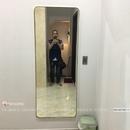 Gương Soi Toàn Thân Khung Mạ PVD Màu Vàng Cao Cấp Dehome - DKL65165.1V