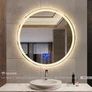 Gương Đèn Led Phòng Tắm Hình Tròn Full Tính Năng Dehome - D60.7A