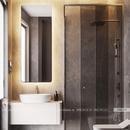 Gương nhà tắm có đèn led cao cấp Dehome - D616.1D