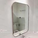 Gương Phòng Tắm Khung Mạ PVD Màu Vàng Dehome - DKL68.1V