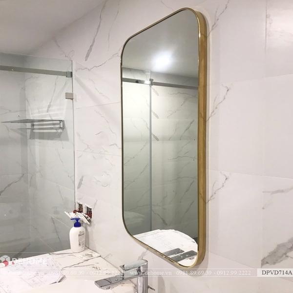 Kiếng nhà tắm có đèn led cao cấp Dehome - DPVD714A