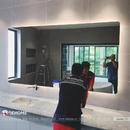 Gương nhà vệ sinh có đèn led thông minh cao cấp Dehome - D1810.7A