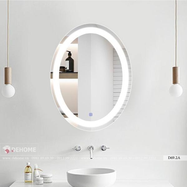 Gương Đèn Led Phòng Tắm Cao Cấp Dehome - D69.2A