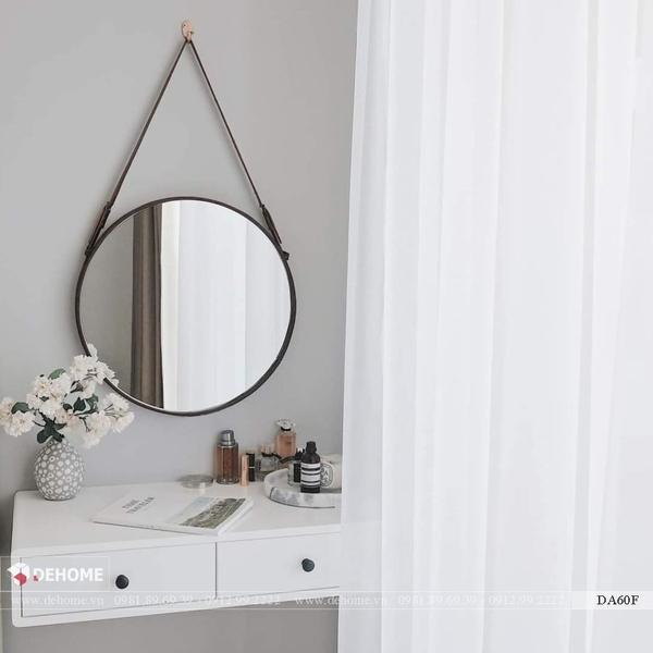 Gương Bàn Trang Điểm Dây Da Dehome - DA60F