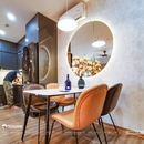 Gương Đèn Led Phong Thủy Cho Phòng Bếp Hiện Đại - D120.1A