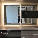 Gương chữ nhật bàn trang điểm có đèn led cao cấp Dehome - D68.2G