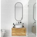 Gương nhà tắm khung sơn tĩnh điện màu đen cao cấp Dehome - DKL612B