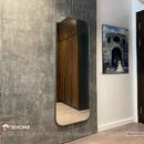 Gương toàn thân khung sơn tĩnh điện màu trắng cao cấp Dehome - DKL65165D