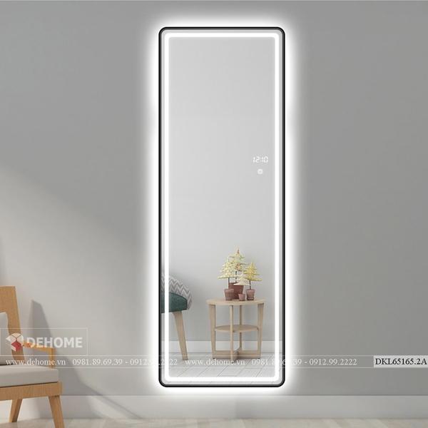 Gương khung sơn tĩnh điện chữ nhật cao cấp Dehome - DKL65165.2A