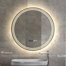 Gương Nhà Tắm Hình Tròn Có Đèn Led Cao Cấp Dehome - DSP80.5A