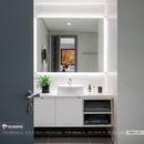 Gương WC hiện tại treo phòng tắm cao cấp Dehome - D1412.1A