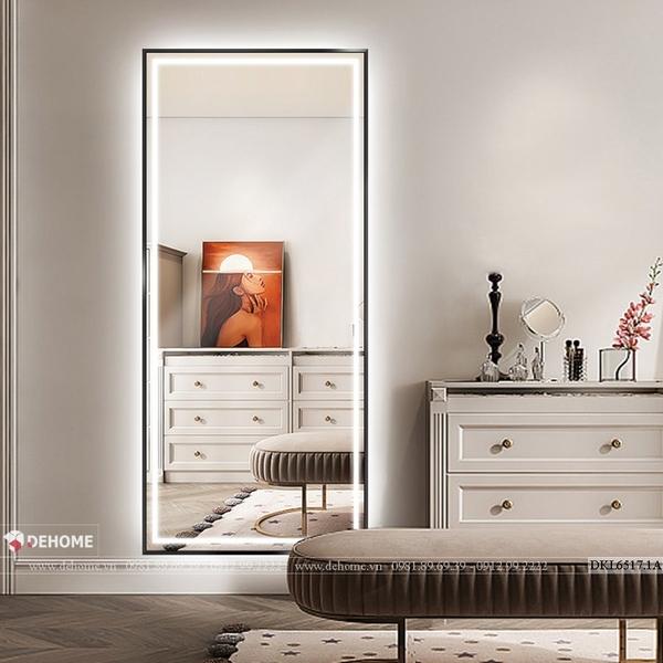 Gương soi toàn thân khung sơn tĩnh điện cao cấp Dehome - DKL6517.1A
