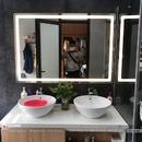 Gương nhà vệ sinh có đèn led cao cấp Dehome - D1486.4A