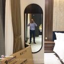 Gương soi toàn thân khung gỗ tự nhiên cao cấp Dehome - DG616B