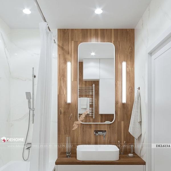 Gương khung sơn tĩnh điện phòng tắm cao cấp Dehome - DKL613A