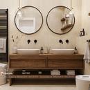 Gương khung gỗ nhà tắm cao cấp Dehome - DG60ĐC