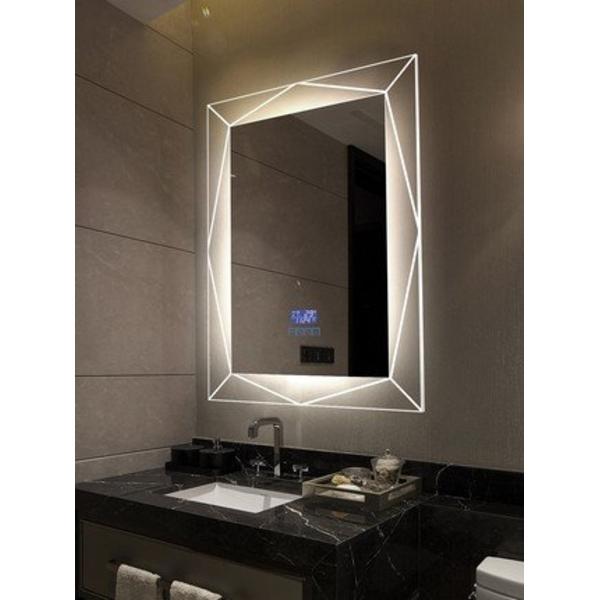 Gương Toilet Cao Cấp Có Đèn Treo Tường Cao Cấp Dehome - D79.7C