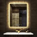 Gương nhà tắm có đèn led cao cấp Dehome - D79.5B