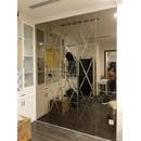 Gương Ghép Trang Trí Phòng Khách Cao Cấp Dehome - DT24